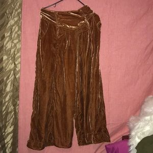 Bell bottoms suede free people